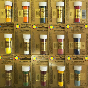 Sugarflair-Blossom-Tints-Edible-Cake-Decorating-Craft-Dust-40-COLOURS