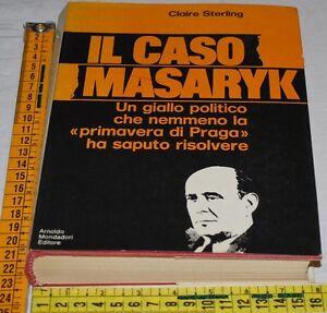 STERLING-Claire-IL-CASO-MASARYK-Mondadori-1A-1970-libri-usati