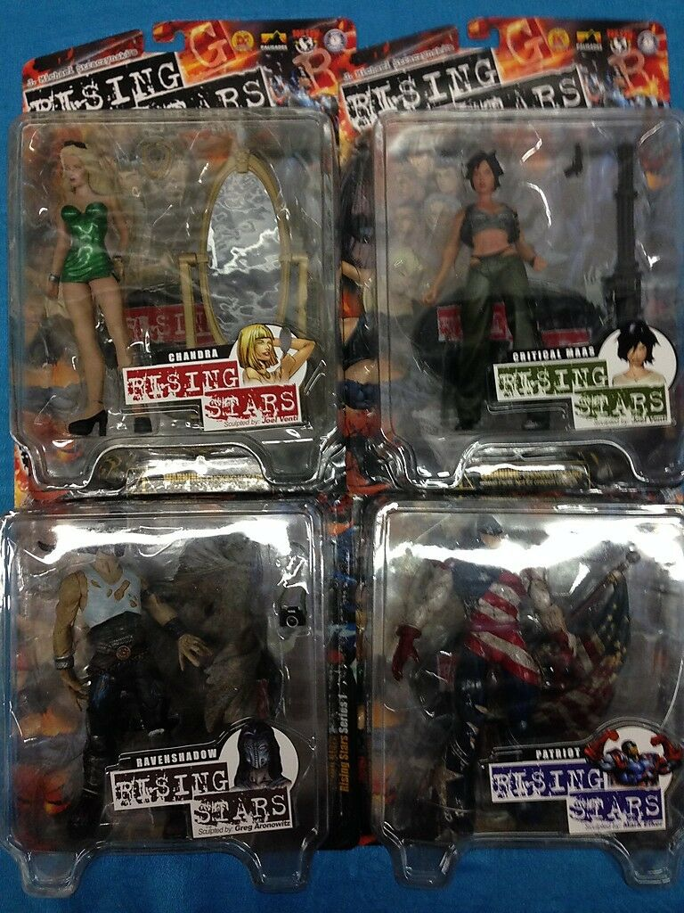 Rising Stars - set of 4 Action Figures - Palisades