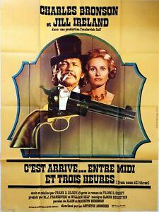 Plakat Kino Ist Kommt Zwischen Midi Und 3 Stunden Charles Bronson 120 X 160 CM