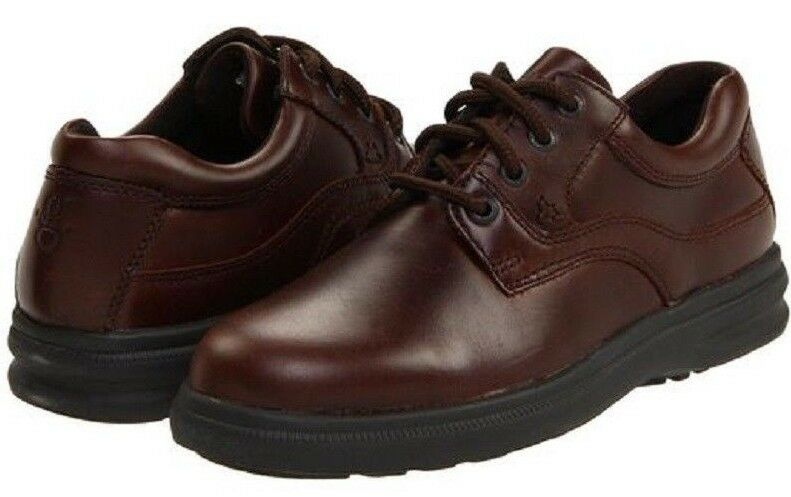 Hush Puppies Men's Glen Tan Leather H19073 Brand New In Box