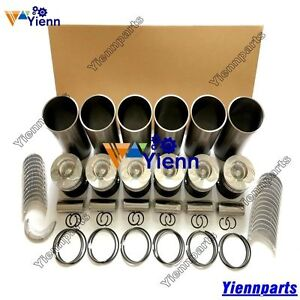 DE12TI-DE12TIS-overhaul-rebuild-kit-for-Doosan-Daewoo-engine-Solar-excavator-set
