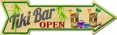 "Margarita Directional Metal Arrow Sign 17/"" x 5/"" ↔ Beach Pool Pub Bar Fun Decor"