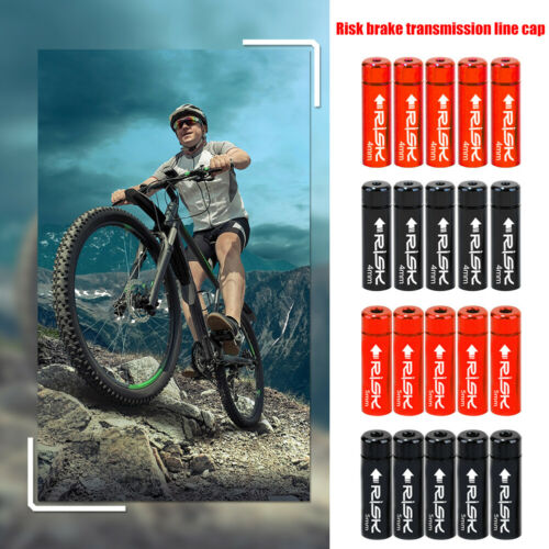 10pcs RISK Bicycle Cable Ends Cap Mountain Road Bike Shift Brake Wire Tip