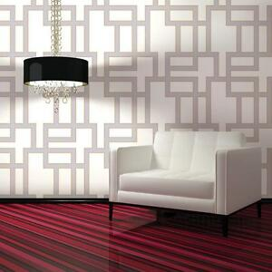 Image Is Loading Tempaper Ma073 Self Adhesive Removable Wallpaper Maze Lilac