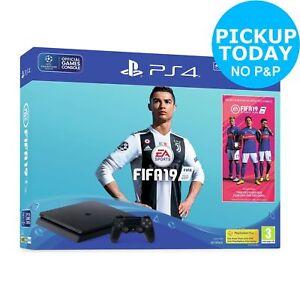 Sony Playstation PS4 500GB Console Black FIFA 19 Bundle