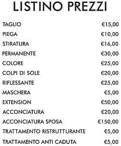 listino prezzi parrucchieri da