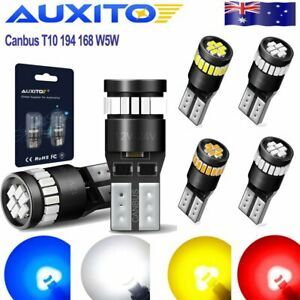 AUXITO-2x-CANBUS-Car-T10-LED-24SMD-Wedge-Light-Bulb-W5W-194-168-2825-158-192-AU1
