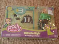 Polly Pocket Ultimate Style Buckle Up Rick Boy Mattel Nip
