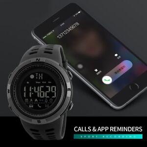 SKMEI-Fashion-Men-039-s-Smart-Watch-Bluetooth-Digital-Sports-Wrist-Watch-Waterproof