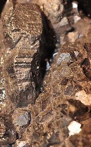 RARE-BIG-2cm-BOURNONITE-CRYSTAL-ON-CRISTALLIZED-SPHALERITE-MATRIX-FROM-FRANCE