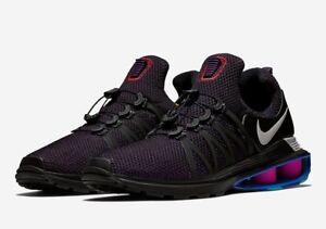 AUTHENTIC Nike Shox Gravity Grand Purple Black AR1999? 500 Running Shoes SZ 9.5