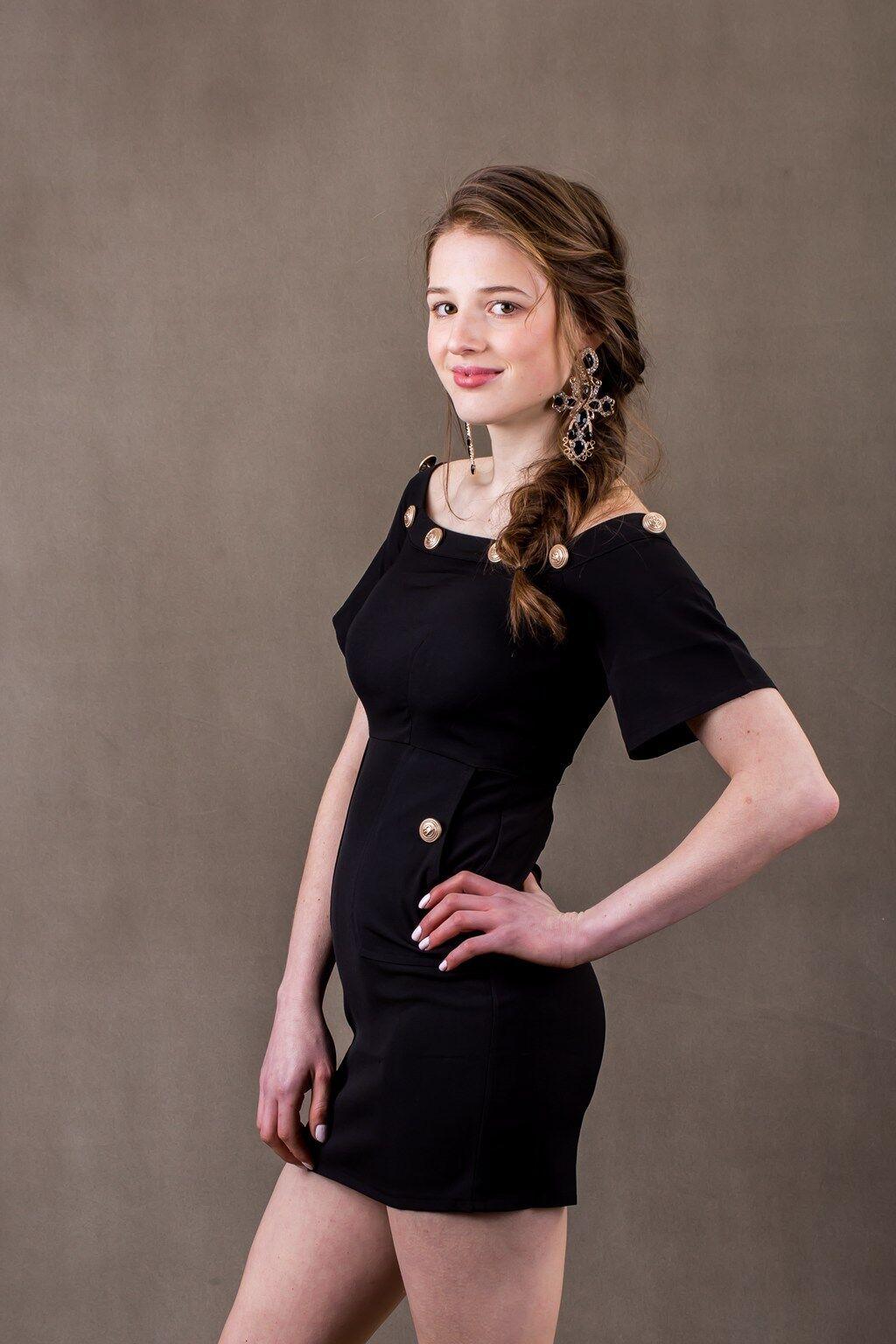 Dance in Night-blooming Cereus Scent schwarz Mini Dress【AU Stock】