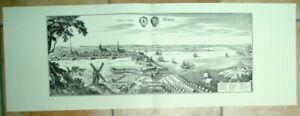 Stralsund-alte-Ansicht-Merian-Druck-Stich-1650-Staedteansicht-Mecklenburg-Vorpomm
