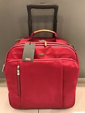 Authentic Tumi Red Sydney Travel Compact Carry on Suit Case ...
