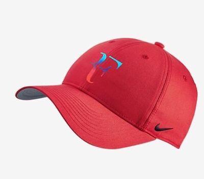 360af602f89 ... Hybrid Hat Colourway 010 · Roger Federer RF Nike Iridescent Red Hat Cap  Tennis Dri Fit Rare New !