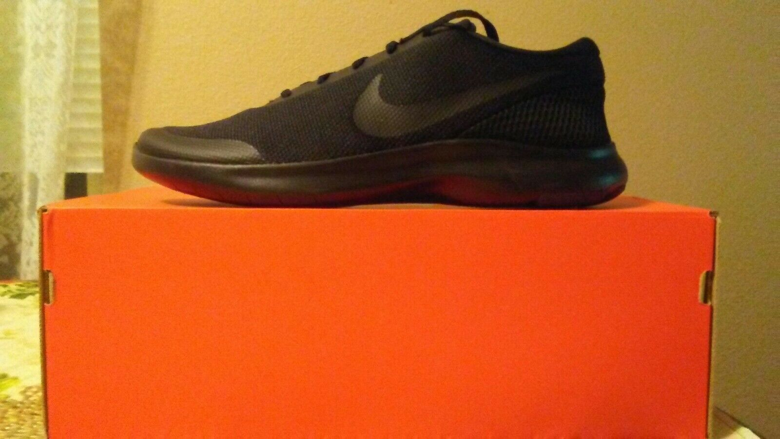 Nike Flex Black Running shoes Size 12 Wide 4E