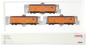 MARKLIN-45680-HO-3-RAIL-U-P-UNION-PACIFIC-PACIFIC-FRUIT-EXPRESS-REEFER-SET