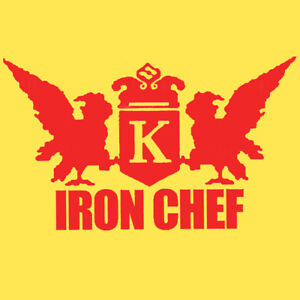 IRON-CHEF-T-Shirt-funny-japanese-cult-tv-show-Mens-Women-039-s-sizes