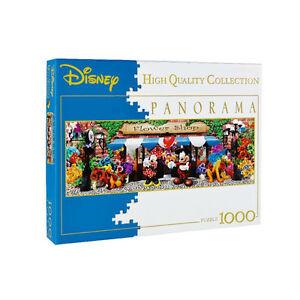 CLEMENTONI-Puzzle-panorama-DISNEY-The-Flower-Shop-1000-pieces-sous-blister-neuf