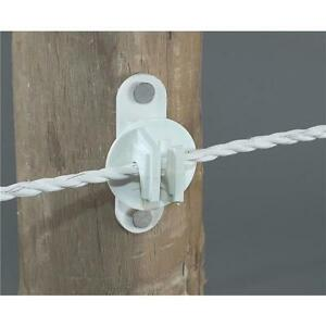Details About 20 Pk Dare Nail On Wood Post Polyrope Electric Fence Insulator 25 Pk Snug Htw