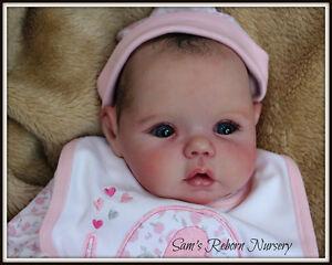 Beautiful Prototype Reborn Baby Doll Mika Sams Reborn Nursery