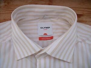 ta2007 olymp slim line luxor businesshemd langarm 40 wei. Black Bedroom Furniture Sets. Home Design Ideas
