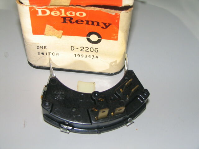 Nos Delco Remy 1993434 Neutral Safety Switch 1968 69 70 71