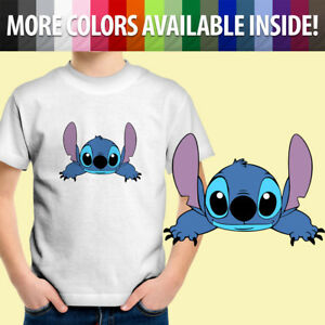 Toddler Kids Tee Youth T-Shirt Graphics Lilo and Stitch Alien Dog Experiment 626