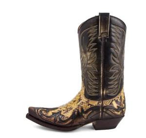 Unisex Python Western Boot