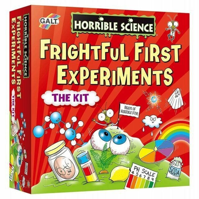 Galt HORRIBLE SCIENCE EXPLOSIVE EXPERIMENTS Kids Educational Toy BN