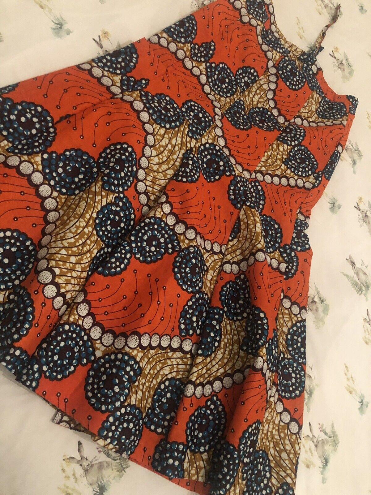 Colourful African Print Skirt. Ankara Print Skirt. Chitenge Skirt