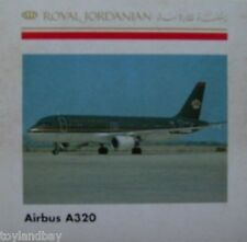 Herpa 501613 Royal Jordanian Airbus A320-200 1:500 Scale Retired 2001 New in Box
