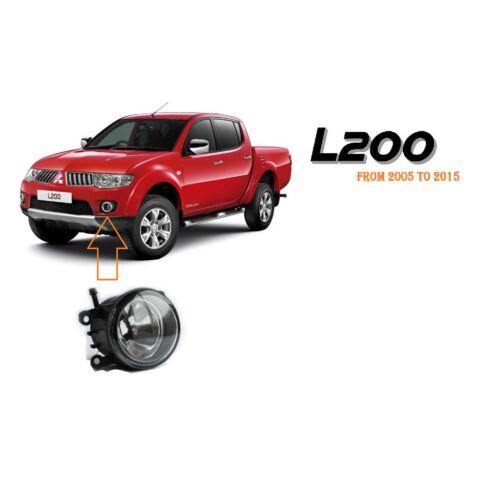 Mitsubishi L200 2005-2015 Front Bumper Fog spot Lamps lights Right Driver M201
