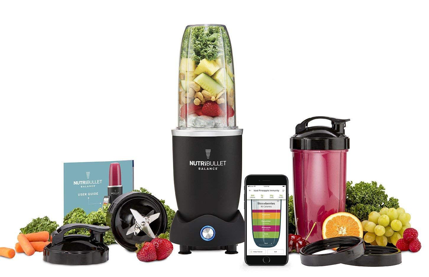 BRAND NEW NutriBullet Balance, blueetooth Enabled Smart Blender