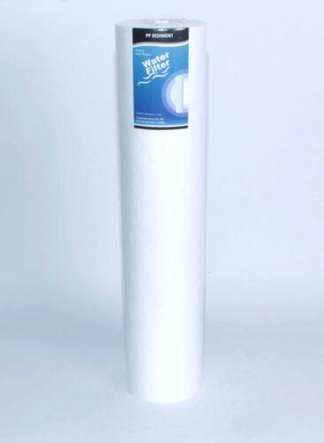 """5µpp 20/"""" chassis FILTRO Big Blue trasparente con 1/"""" /""""IG Gac facoltativo ACCESSORI"""