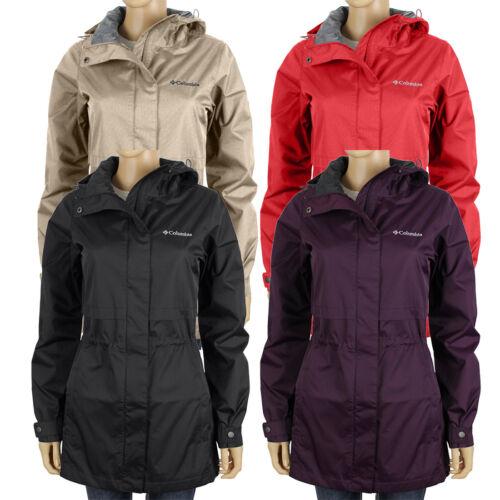 "New Womens Columbia /""Shine Struck II/"" Omni-Tech Waterproof Vented Rain Jacket"
