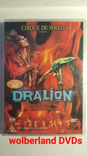 1 of 1 - Cirque Du Soleil Presents Dralion [ DVD ] BRAND NEW & SEALED, Region 4, FREEPost