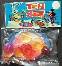 Fantástico Años 50 Muñecas Juego de Té Mickey Mouse+Bichos Conejito on Cabecera