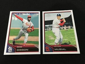 BOB-GIBSON-amp-STAN-MUSIAL-RETRO-ST-LOUIS-CARDINALS-TOPPS-LINEAGE-BASEBALL-CARDS