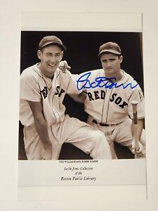 Bobby Doerr Boston Redsox Autographed 4x6 Photo