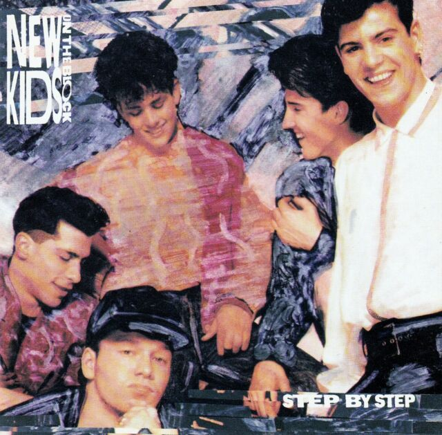 NEW KIDS ON THE BLOCK : STEP BY STEP / CD