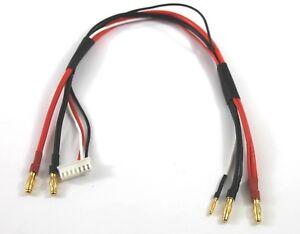 Long 300mm 6s D'Équilibre Câble De Charge/câble 2 & 4mm To 4mm Balle/banane Ffezp31y-07185751-248378667