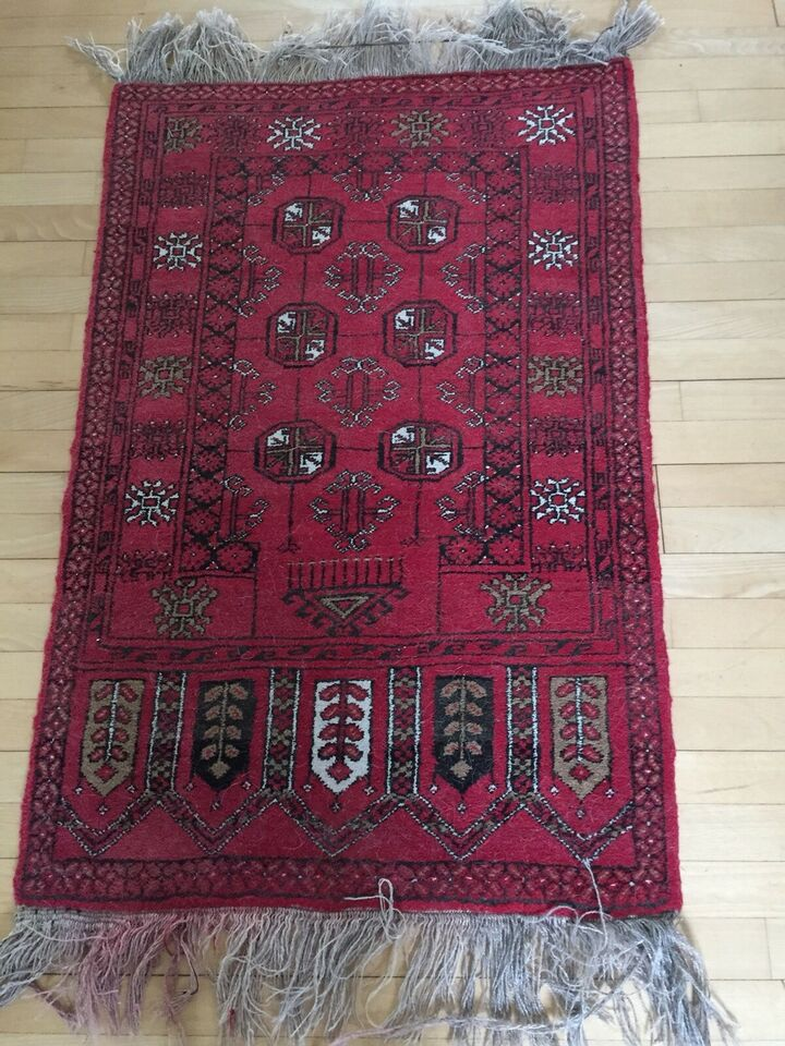 Løse tæpper, ægte tæppe, b: 75 l: 112