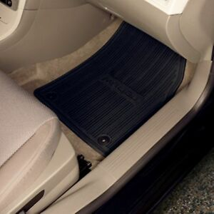 2013 2014 chevrolet malibu all weather premium floor mats black by gm 22906996 ebay. Black Bedroom Furniture Sets. Home Design Ideas