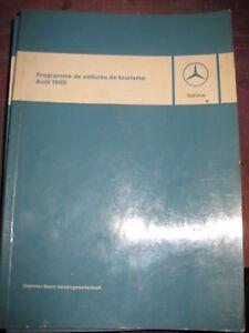 Mercedes-Programme-de-voitures-de-tourisme-Aout-1965-W-110-W-112-W-113