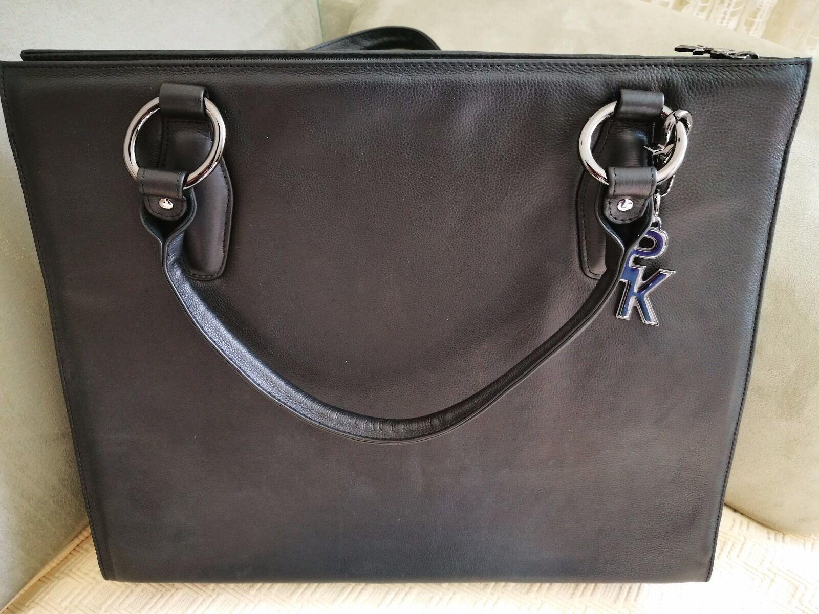 Schwarze Aktentasche   Business Bag  -  N E U  -  Leder   Peter Kaiser | New Products  | Maßstab ist der Grundstein, Qualität ist Säulenbalken, Preis ist Leiter  | Deutschland Shops