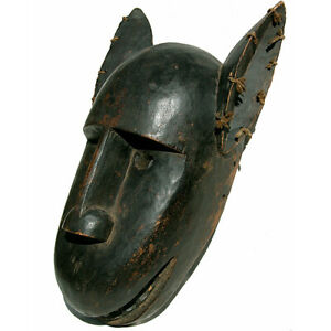an authentic old antique african lion mask bamana mali #4