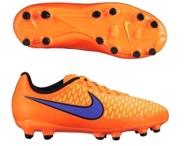 d7b203e2ad9 Nike Magista Onda FG Soccer Cleats Orange Purple Yellow Black Youth Boys 6y