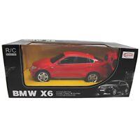 Rastar Bmw X6 Ferngesteuert Rc Modellauto 1:24 Rot Modell Auto Neu